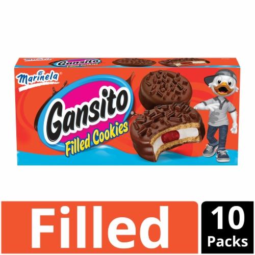 Marinela Ganisto Filled Cookies Perspective: front