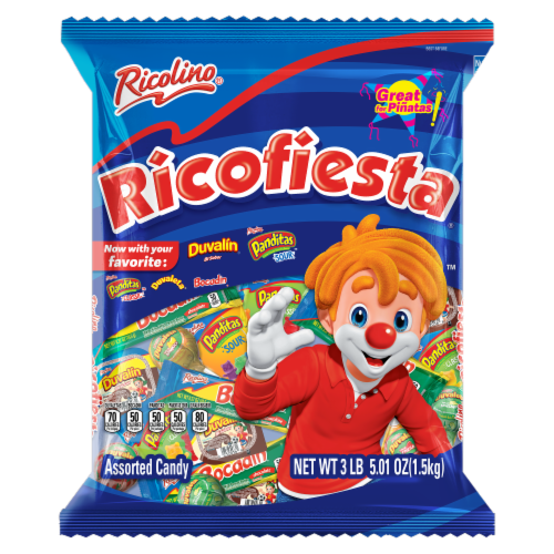 Ricolino Ricofiesta Assorted Candy Perspective: front