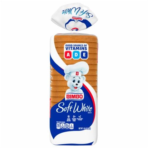 Bimbo Soft White Bread Perspective: front