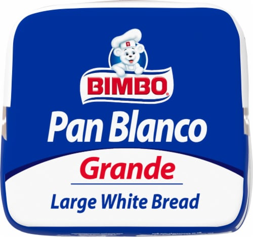 Bimbo® Large White Bread Perspective: front