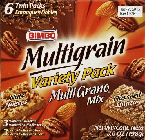 Bimbo Multigrain Bars Variety Pack Perspective: front