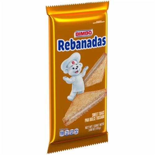 Bimbo Rebanadas Sweet Toast Perspective: front