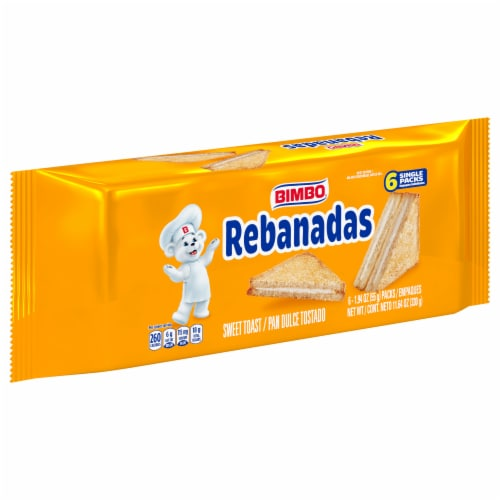 Bimbo Rebanadas Sweet Toast with Cream Perspective: front