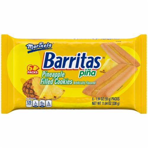 Marinela Barritas Pina Filled Cookies Perspective: front