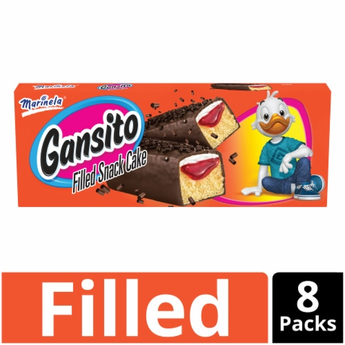 Marinela Gansito Snack Cakes Perspective: front