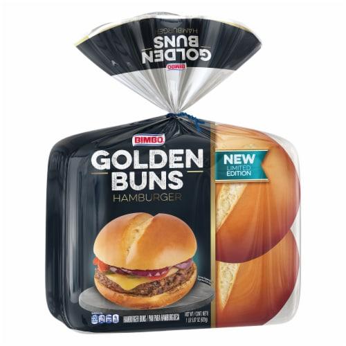 Bimbo Golden Hamburger Buns Perspective: front