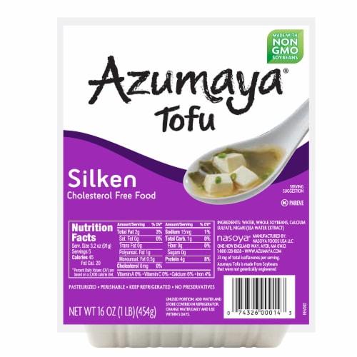 Azumaya Silken Tofu Perspective: front