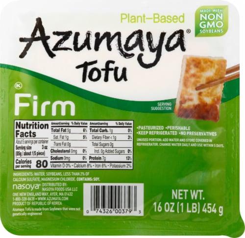 Azumaya Firm Tofu Perspective: front