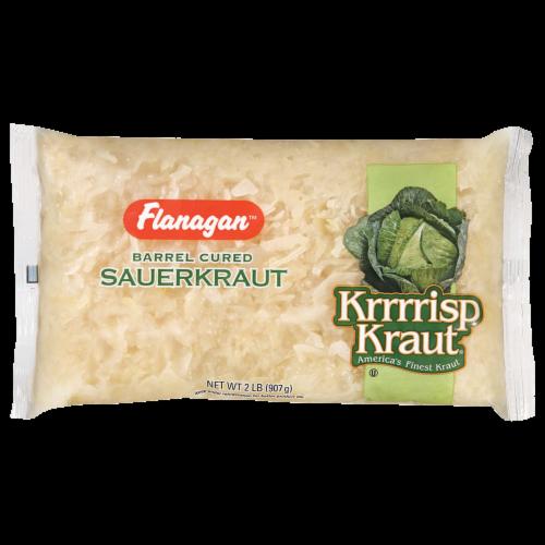 Flanagan Barrel Cured Sauerkraut Perspective: front