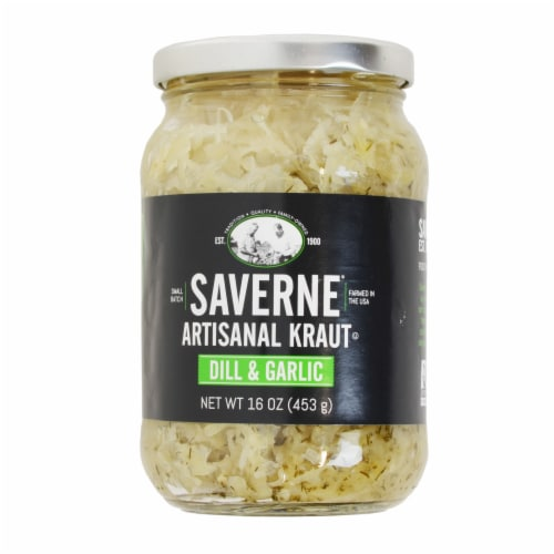 Saverne Dill & Garlic Artisanal Kraut Perspective: front