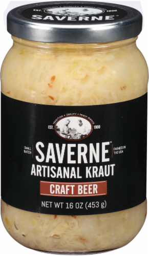 Saverne Craft Beer Artisanal Kraut Perspective: front