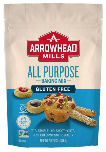Arrowhead Mills Gluten Free All Purpose Baking Mix Perspective: front