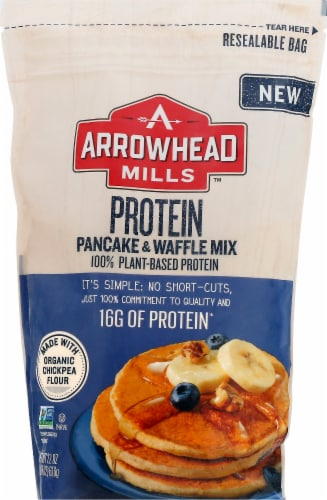 Arrowhead Mills Protein Pancake & Waffle Mix Perspective: front