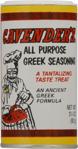 Cavender's All-Purpose Greek Seasoning Perspective: front