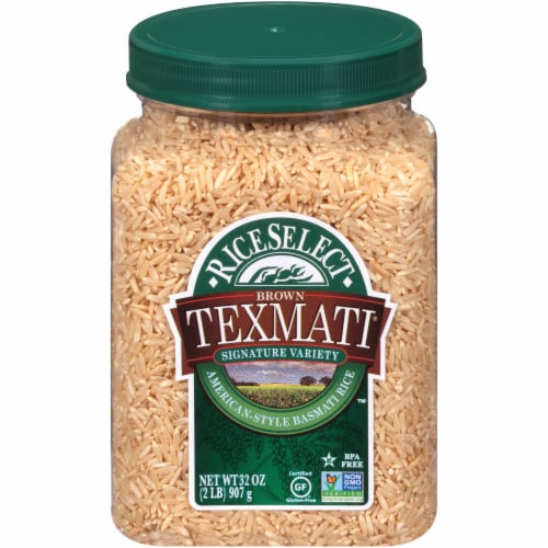 RiceSelect Texmati Long Brown Rice Perspective: front
