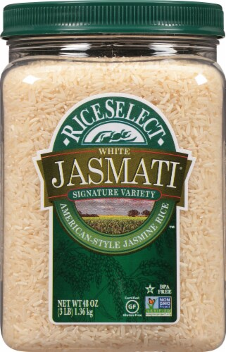 RiceSelect White Jasmati Rice Perspective: front
