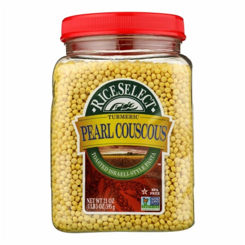 Rice Select™ Pearl Couscous - Case of 4 - 21 OZ Perspective: front