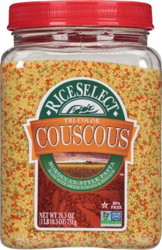 RiceSelect Tri-Color Couscous Perspective: front