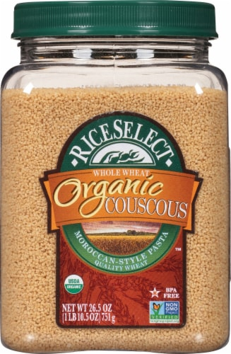 RiceSelect Organic Whole Wheat Couscous Perspective: front