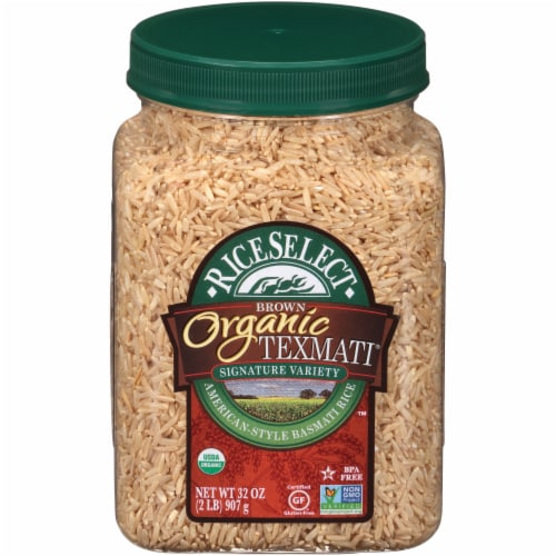 RiceSelect Texmati Organic Brown Rice Perspective: front