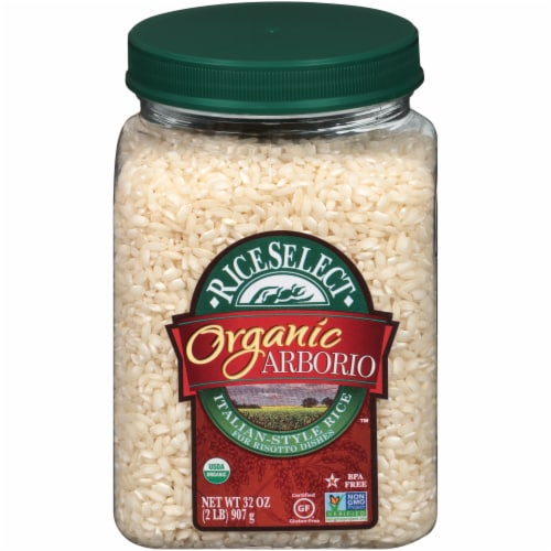 RiceSelect Organic Arborio Italian-Style Rice Perspective: front