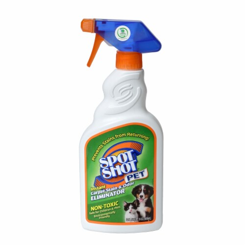 Spot Shot Pet Trigger Spray Non Toxic Carpet Stain and Odor Remover, 22 Ounces Perspective: front