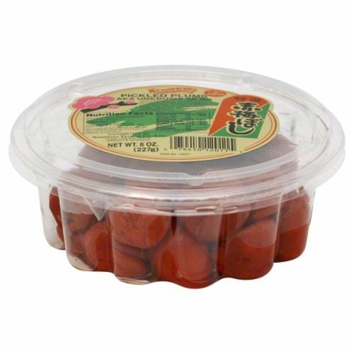 Shirakiku Pickled Plums Perspective: front