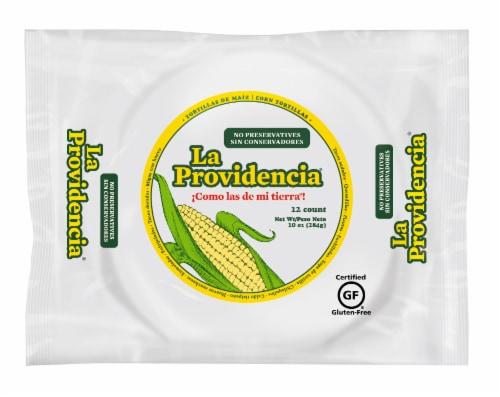 La Providencia Corn Tortillas 12 Count Perspective: front