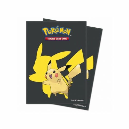Ultra Pro ULP15101 Pokemon Pikachu 2019 Deck Protector Sleeves, 65 Count Perspective: front