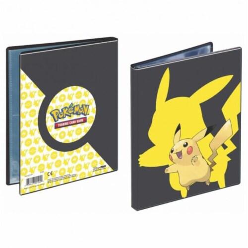 Ultra Pro ULP15104-P Pokemon Pikachu 2019 4 Pocket Portfolio Binder Perspective: front