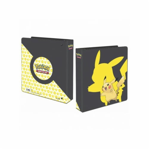 Ultra Pro ULP15106 2 in. Pokemon Pikachu 2019 9 Pocket Album Perspective: front