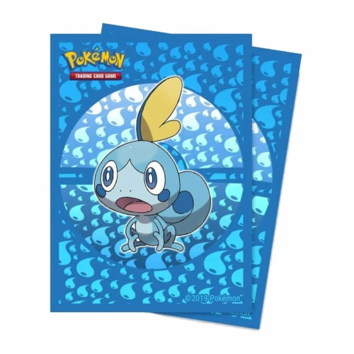 Ultra Pro Pokemon Sword And Shield Sobble Protector Sleeves 65 Count Perspective: front