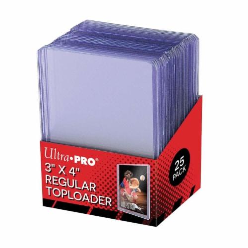 Ultrapro 3 X 4  Regular Toploader Perspective: front