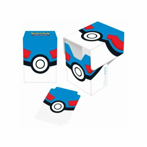 Ultra Pro ULP85448 Deck Box-Pokemon Great Ball Card Accessories Perspective: front