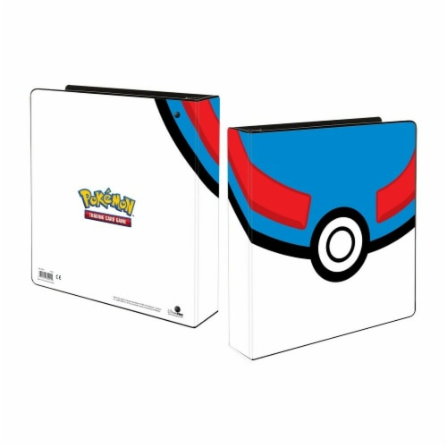 Ultra Pro ULP85451 2 in. Binder Album Pokemon Great Ball Card Accessories Perspective: front
