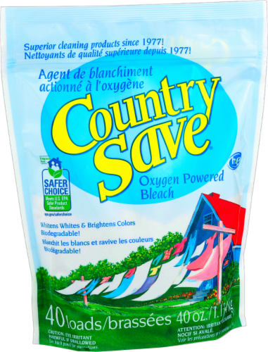 Country Save Oxygen Powered Non Chlorine Bleach Perspective: front
