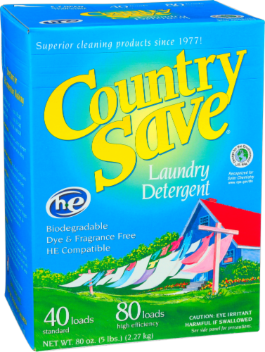 Country Save Powdered Laundry Detergent Perspective: front