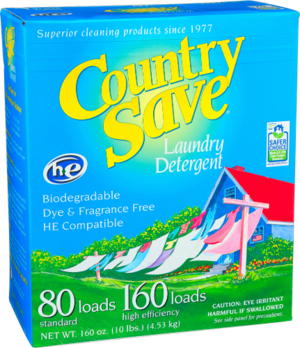 Country Save Fragrance Free Powdered Laundry Detergent Perspective: front