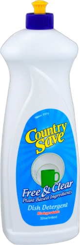 Country Save Liquid Dish Detergent Perspective: front