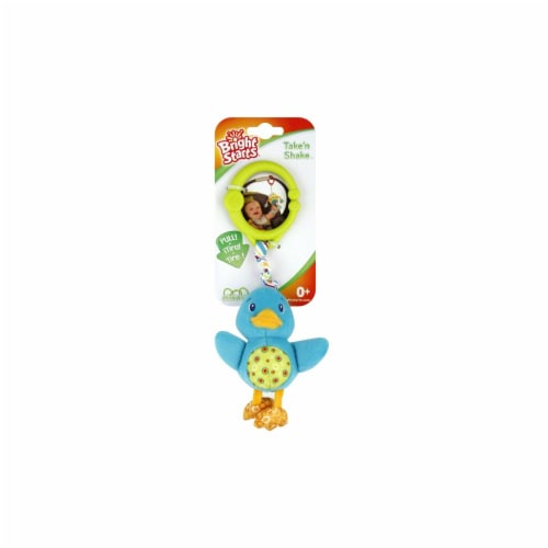 Bright Starts Take N' Shake Baby Toy Perspective: front