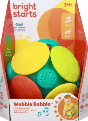 Oball Wobble Bobble - Assorted Perspective: front