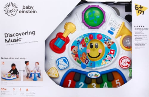 Baby Einstein Discovering Music Activity Table Infant/Toddler Toy Perspective: front