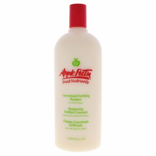 Apple Pectin Fortifying Shampoo by Zotos for Unisex - 33.8 oz Shampoo Perspective: front