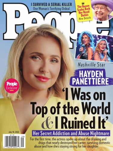 People Magazine Perspective: front