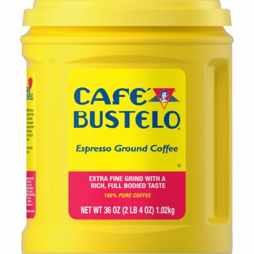 Cafe Bustelo Espresso Ground Coffee Perspective: front