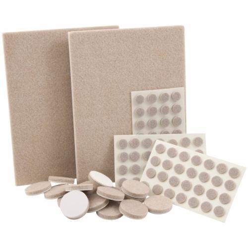 Waxman Floorcare Felt Combo Pack Perspective: front