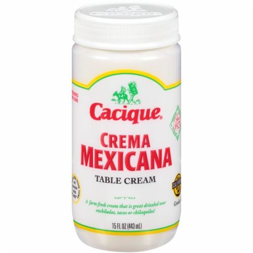 Cacique Crema Mexicana Perspective: front