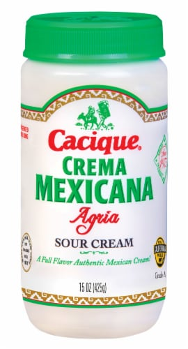 Cacique Crema Mexicana Agria Perspective: front