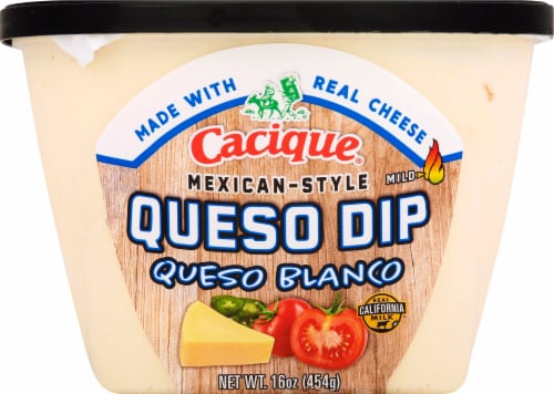 Cacique Mexican-Style Queso Blanco Dip Perspective: front