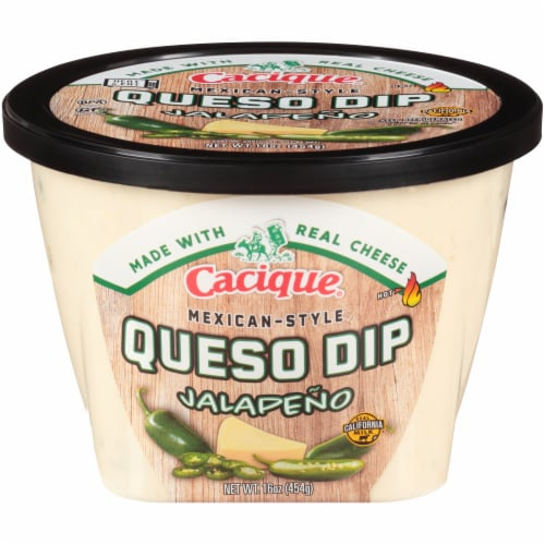 Cacique Mexican-Style Jalapeno Queso Dip Perspective: front